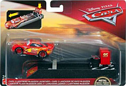 Cars 3 Lightning McQueen - Pit Row Launcher