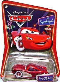 Disney Pixar Cars INTL Supercharged BOLIDE Cruisin McQueen Hidden Wheel