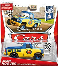 #13/18 - Dexter Hoover with Checkered Flag - Single - Piston Cup