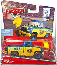 #10/18 - Dexter Hoover (yellow flag) - Single - Piston Cup