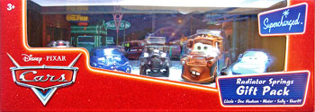 Doc Hudson, Sheriff, Lizzie, Mater, Sally - 5 Pack