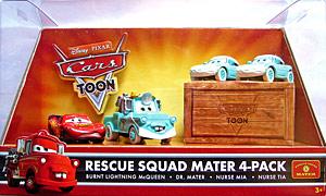 """""""Quelles différences entre cars toons single et ceux des packs 4 """" Dr_mater_cars_toon_pack_de_4"""