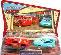 Kori Turbowitz, Lightning McQueen (without Rusteze sticker) - Movie Moments