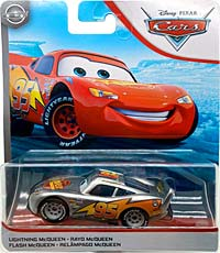 Lightning McQueen - Single - Silver Metallic Finish