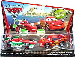 Francesco Bernoulli, Lightning McQueen with Party Wheels - Movie Moments