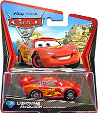 #3. Lightning McQueen with Racing Wheels - Single
