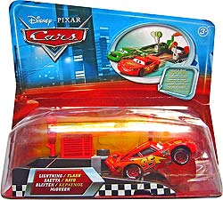 Lightning McQueen (with Rusteze sticker) - Pit Row Launcher