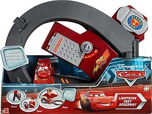 Lightning McQueen (without Rusteze sticker, two parts) - Playset
