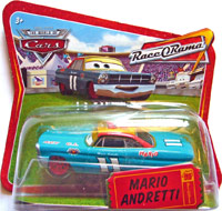 Mario Andretti (red wheels) - Short Card