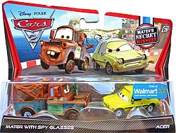 Mater with Spy Glasses, Acer - Mater's Secret Missions