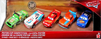 Piston Cup Competition - 5-Pack