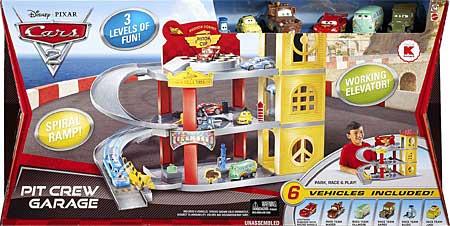 Disney pixar cars 2 pit crew garage race team sarge for Sarge automobiles garage serus