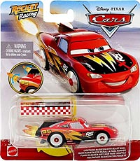 Lightning McQueen with Blast Wall - Single - Rocket Racing
