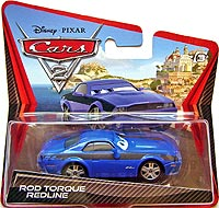 Cars 2 - Rod Torque Redline - Short Card