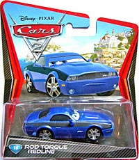 Cars 2 - #16. Rod Torque Redline - Single
