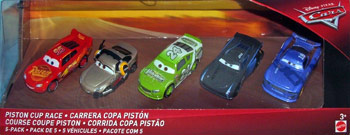 Piston Cup Race 5-Pack