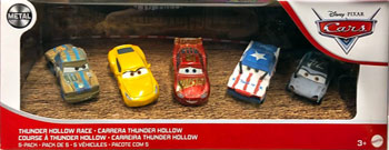 Thunder Hollow Race 5-Pack
