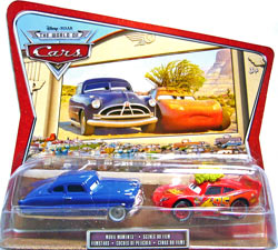 Tumbleweed McQueen, Doc Hudson - Movie Moments