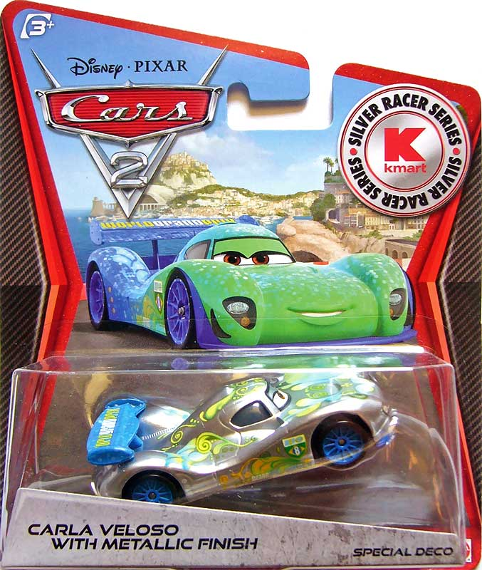 World of cars pr sentation du personnage carla veloso - Nom voitures cars 2 ...