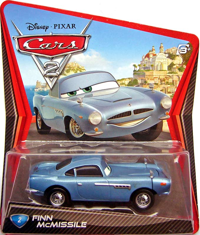 Disney Cars  Secret Spy Attack Finn Mcmissile