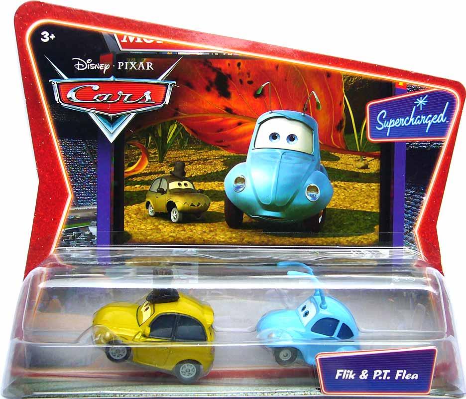 Cars Movie Toys : Supercharged flik pt flea movie moments