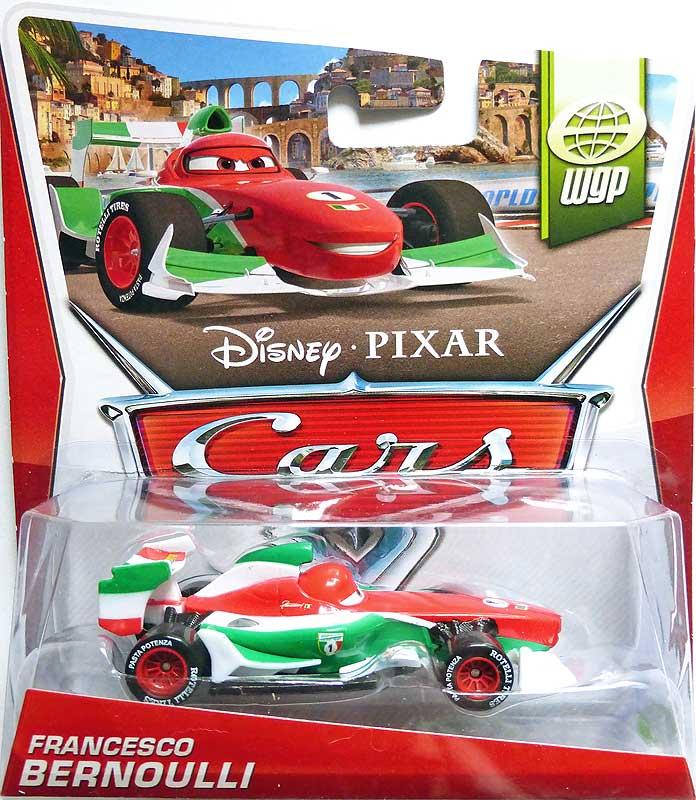 World Of Cars Pr 233 Sentation Du Personnage Francesco Bernoulli