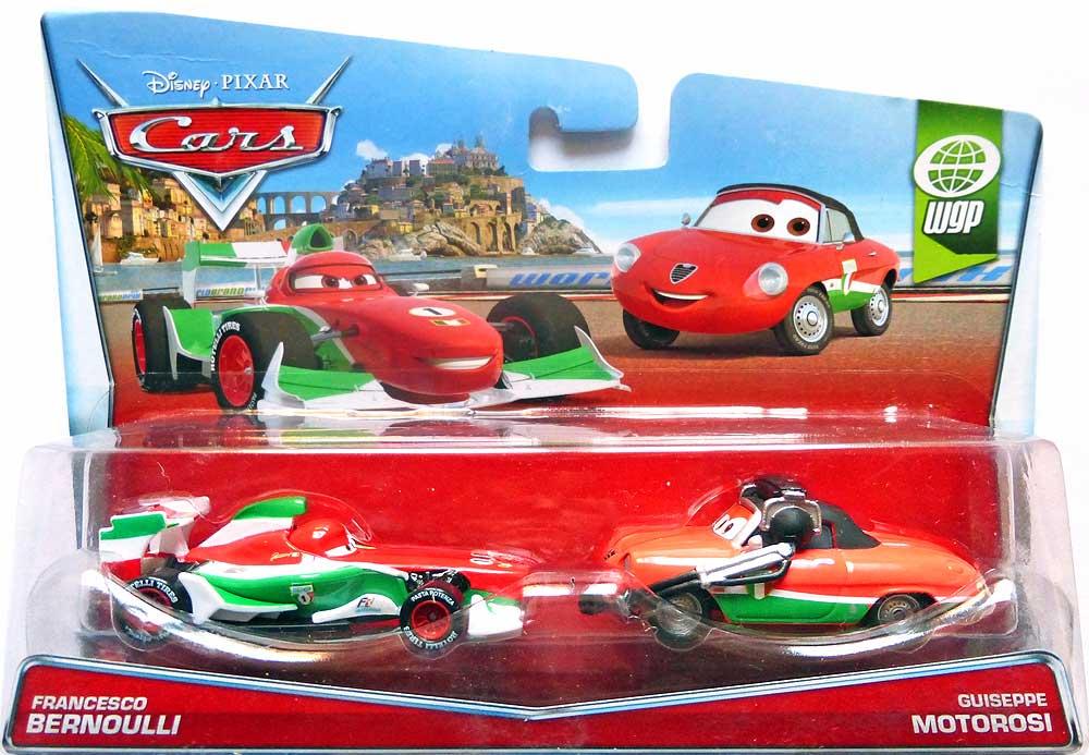 World of Cars : présentation du personnage francesco bernoulli