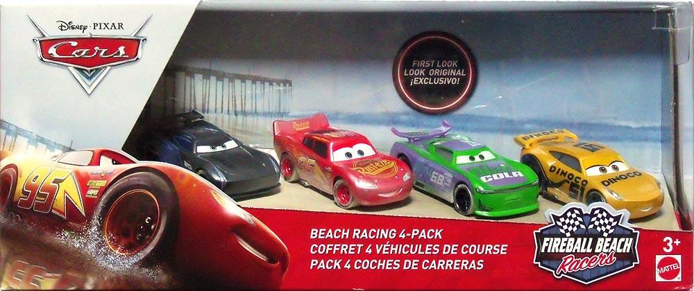 Disney Pixar Cars 4 PACK NIB