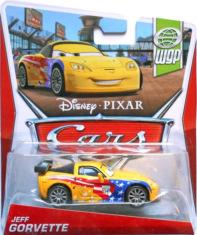 World of cars pr sentation du personnage jeff gorvette - Nom voitures cars 2 ...
