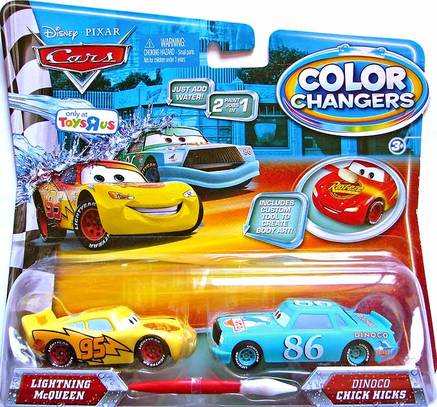 Cars  Color Changers Lightning Mcqueen