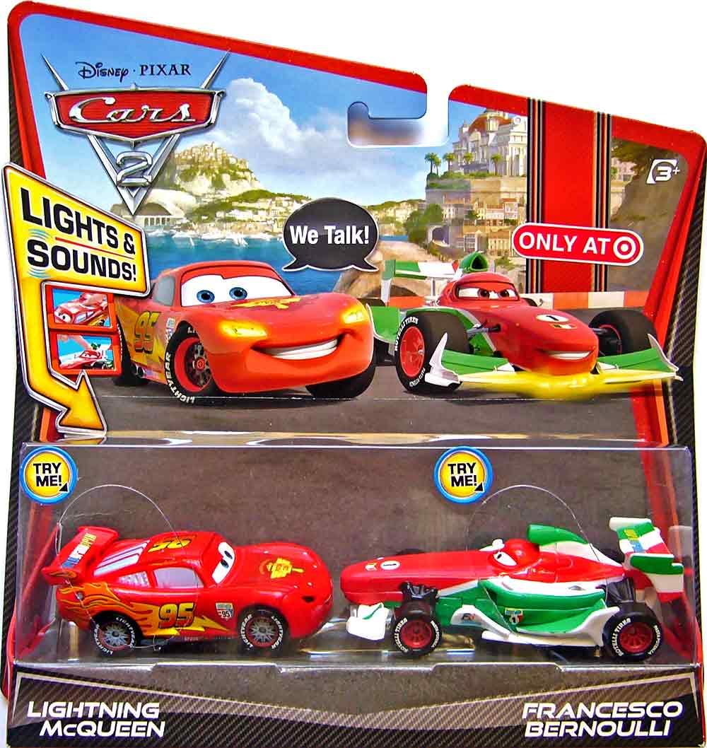 Cars 2 Lights Sounds Lightning: World Of Cars : Présentation Du Personnage Francesco Bernoulli