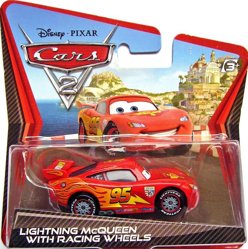 World Of Cars Pr Sentation Du Personnage Flash McQueen Lightning