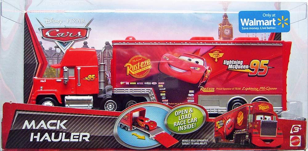 Disney pixar cars camion mack hauler transporter mattel cars a ars en preciolandia - Cars camion mack ...
