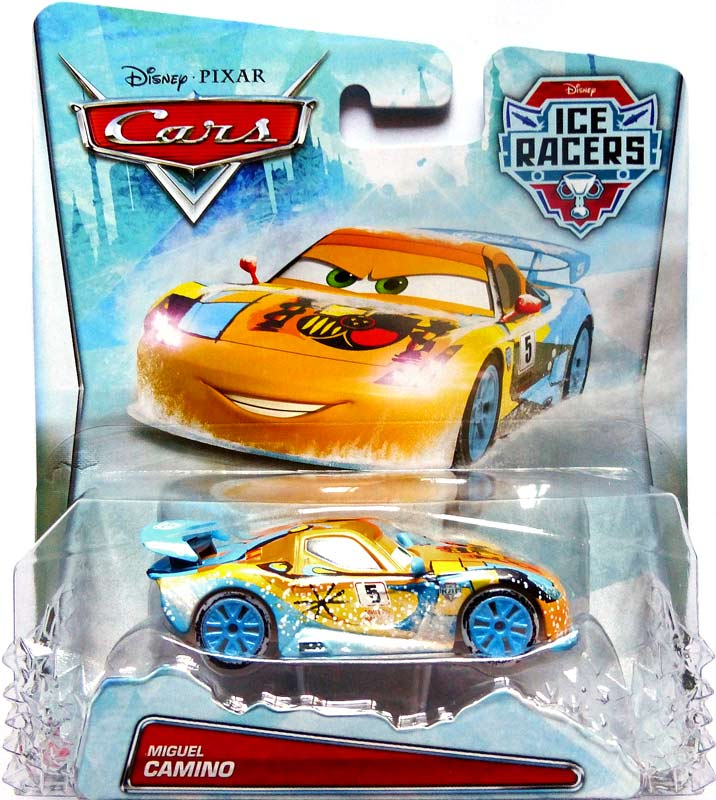 Pics Photos  Cars Ice Racers Flash Mcqueen Voiture Miniature Mattel Cdr26