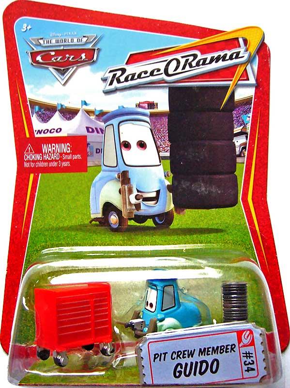 Pit Crew Member Guido  95 Pit Crew *New* Disney Pixar Cars Diecast #3//8