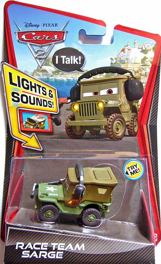 Dan The Pixar Fan Cars 2 Race Team Sarge With Headset