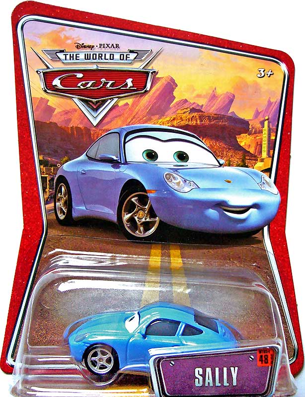 World of cars pr sentation du personnage sally - Voiture sally cars ...
