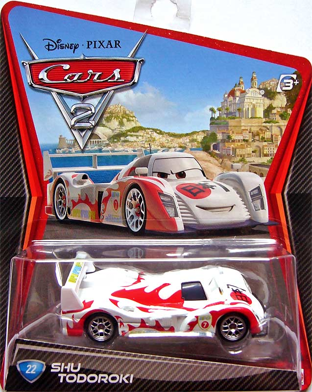 Shu todoroki straight edged no diecut - Nom voitures cars 2 ...