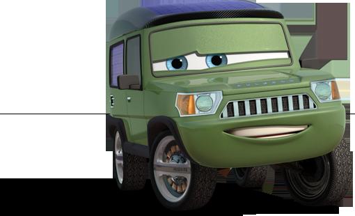 Miles axlerod est un personnage qui figure dans cars 2