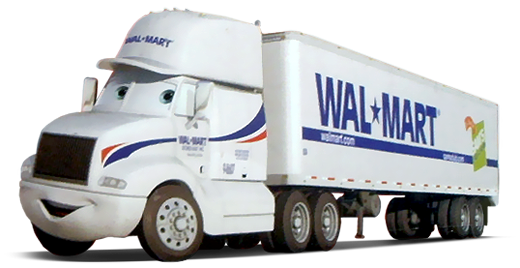 Wally, the Walmart hauler