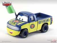 Les cars disponibles uniquement en loose Dexter_hoover_green_flag