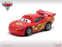 Lightning McQueen with Party Wheels