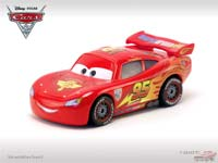 Lightning McQueen with Racing Wheels (unibody variant)