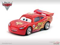 Lightning McQueen with Travel Wheels