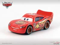 Lightning McQueen (without Rusteze sticker, two parts)