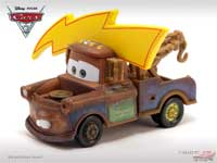 Mater with Lightning Bolt