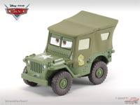 Les cars disponibles uniquement en loose Sarge_boot_camp_variant