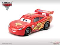 Lightning McQueen with Racing Wheels