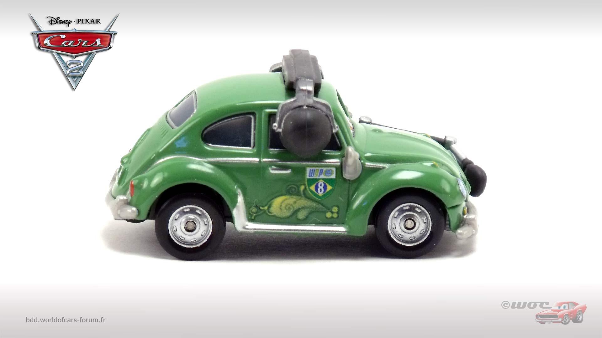 World Of Cars : Présentation Du Personnage Cruz Besouro