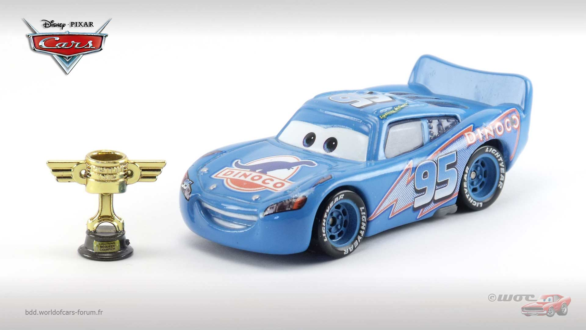 Dinoco McQueen with Piston Cup (Chase)